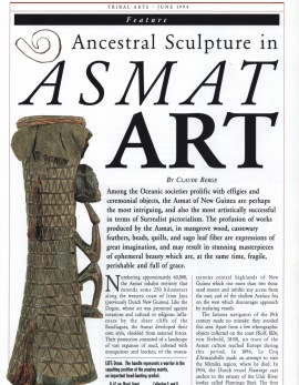 Ancestral Sculpture in Asmat Art