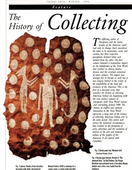 The History of Collecting American Indian Art. The Beginnings to the Early Nineteenth Century