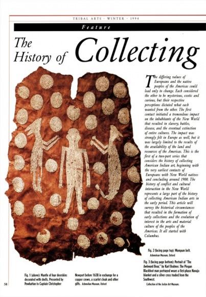 Collectionner l'Art des Indiens d'Amérique. Des origines à 1900