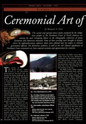 Ceremonial Art of Nuxalk