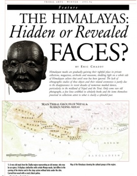 The Himalayas: Hidden or Revealed Faces?