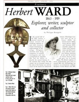Herbert Ward 1863 - 1919 Explorer, writer, sculptor and collector