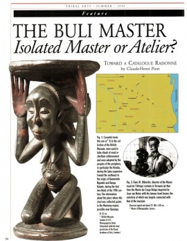 The Buli Master. Isolated Master or Atelier? Toward a catalogue raisonné