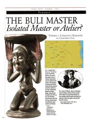 The Buli Master. Isolated Master or Atelier? Toward a catalogue raisonné