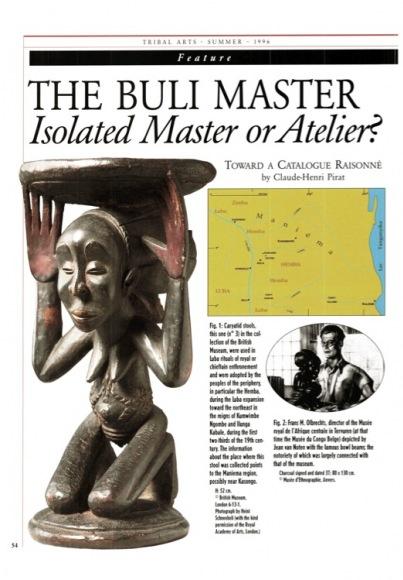 """Le Maître de Buli. Maître isolé ou """"atelier"""" ?"""