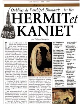 Oubliées de l'archipel Bismarck… Les îles Hermit et Kaniet