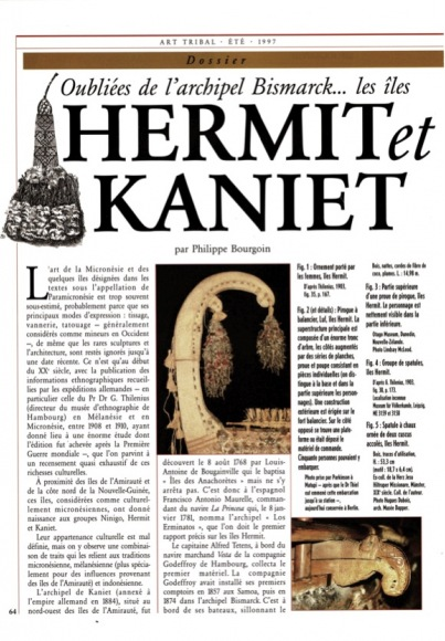 The Forgotten Islands of the Bismarck Archipelago: the Hermits and Kaniets