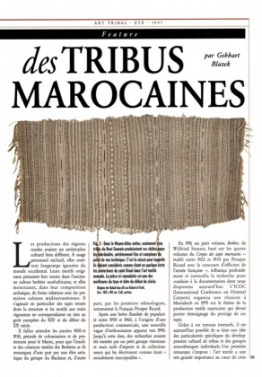 Textiles and Carpets of Tribal Morocco