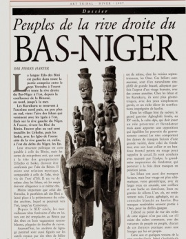 Peuples de la rive droite du Bas-Niger