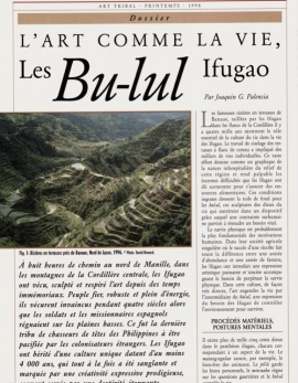 Art as Life. The Ifugao Bu-lul