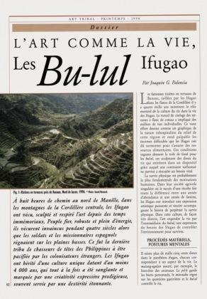 Art as Life. The Ifugao Bu-lul