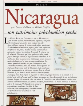 Nicaragua et son patrimoine précolombien perdu