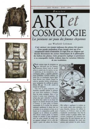 Art as Cosmology. Cheyenne Women's Rawhide Painting