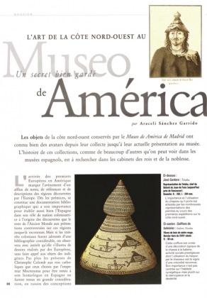 Spain's well-kept secret . Northwest Coast Art in the Museo de América