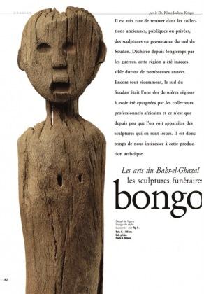 The Arts of Bahr-el-Ghazal: Funerary Sculpture of the Bongo and Belanda