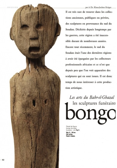 The Arts of Bahr-el-Ghazal: Funerary Sculpture of the Bongo and Belanda