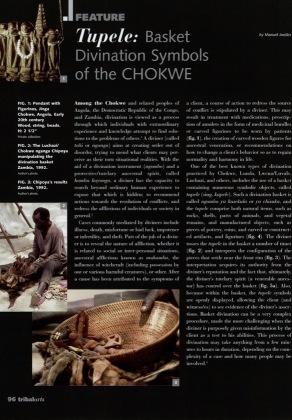 Tupele: Basket Divination Symbols of the Chokwe