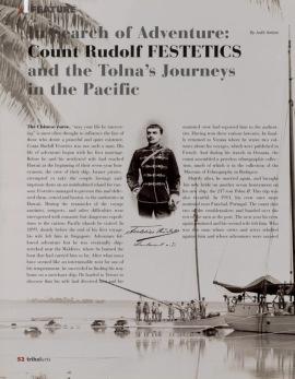 A la recherche de l'aventure, les voyages dans le Pacifique du Comte Rudolf Festetics de Tolna
