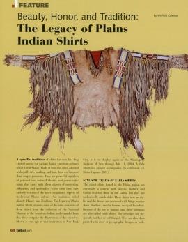 Beauté, honneur et tradition : l'héritage des chemises des Indiens des Plaines