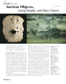 Objets antiques, peuples vivants et visions neuves
