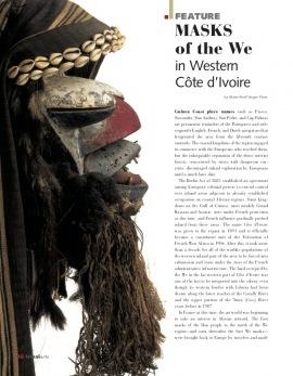 Côte d'Ivoire : Masques du pays Wè