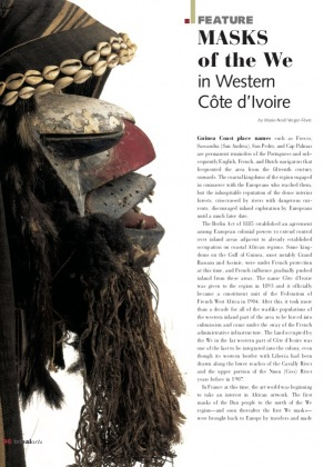 Masks of the We of Western Côte d'Ivoire