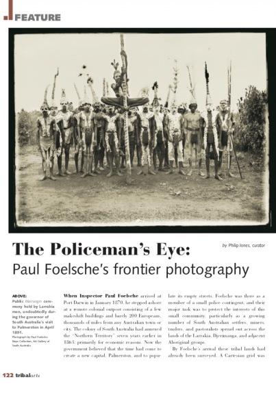 Les yeux du policier : la frontière photographiée par Paul Foelsche