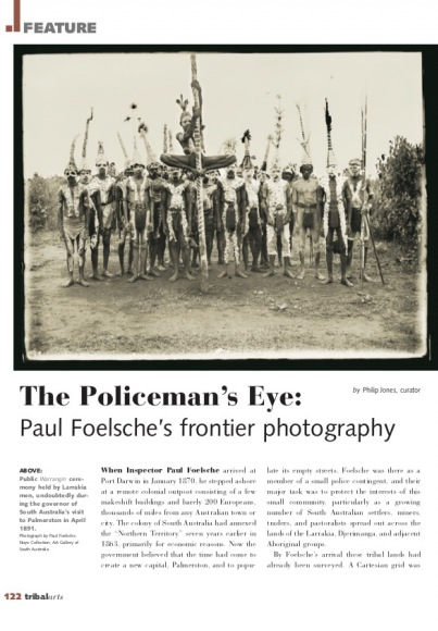 The Policeman's Eye : Paul Foelsche's Frontier Photography