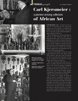 Carl Kjersmeier : A Pioneer Among Collectors of African Art