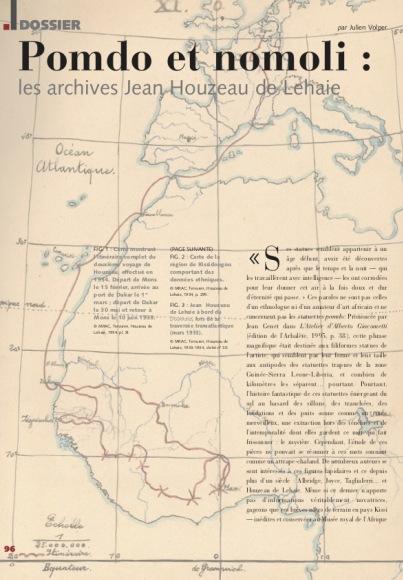 Pomdo et Nomoli : Les archives Jean Houzeau de Lehaie