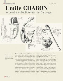 Emile Chambon : Le Peintre collectionneur de Carouge