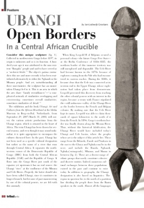 Ubangi : Open Borders in a Central African Crucible