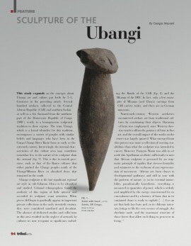 Sculpture of Ubangi