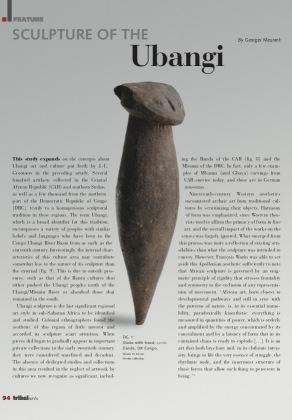 Sculpture of Ubangi