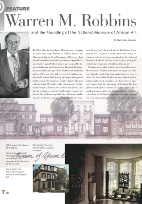 Warren M. Robbins and the Founding of the National Museum of African Art