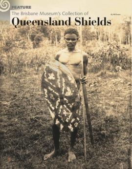 Les boucliers du Queensland du musée de Brisbane