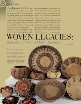 Héritage en fibres : Vanneries d'Amérique du Nord