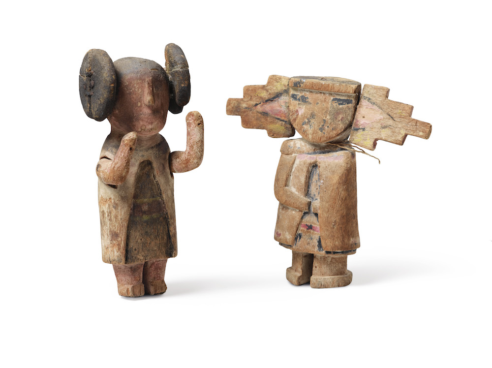 kachina dolls Hopi Arizona Sotheby's